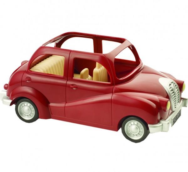 Купить Игровой набор Sylvanian Families Семейный автомобиль (красный) в интернет магазине игрушек и детских товаров