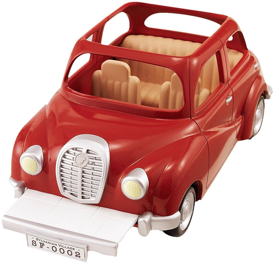 Игровой набор Sylvanian Families Семейный автомобиль (красный)