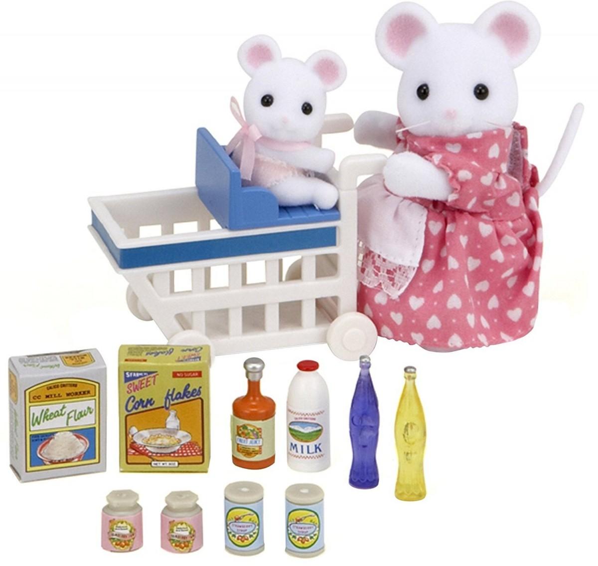 Игровой набор Sylvanian Families Покупки в бакалее