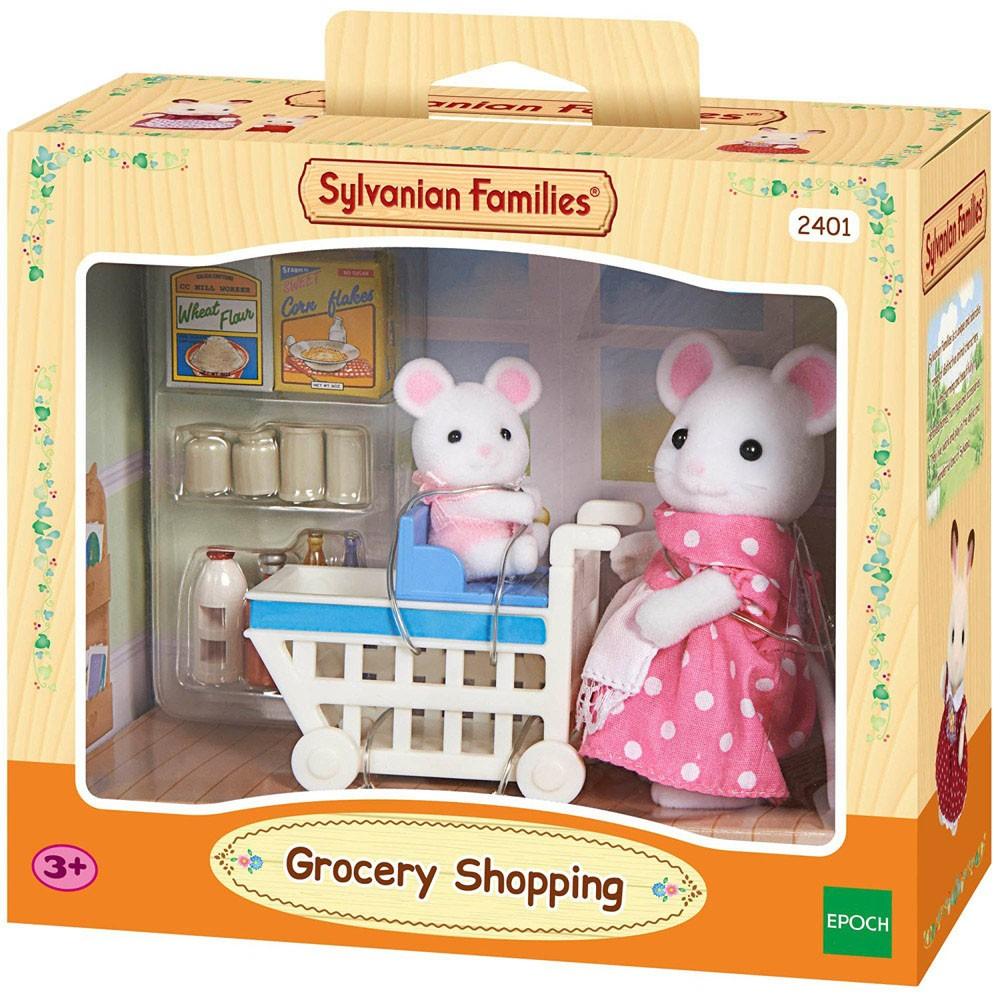 Купить Игровой набор Sylvanian Families Покупки в бакалее в интернет магазине игрушек и детских товаров