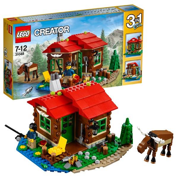 Конструктор Lego Creator Лего Криэйтор Домик на берегу озера