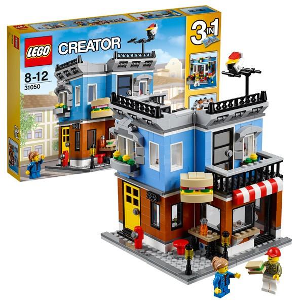 Конструктор Lego Creator Лего Криэйтор Магазинчик на углу