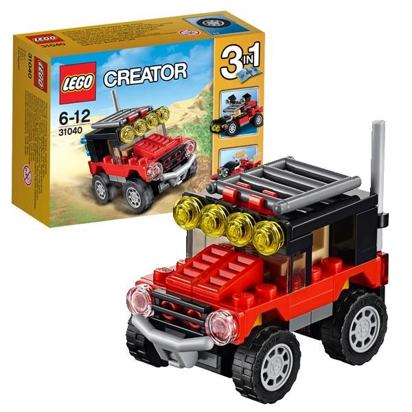 Конструктор Lego Creator Лего Криэйтор Гонки в пустыне