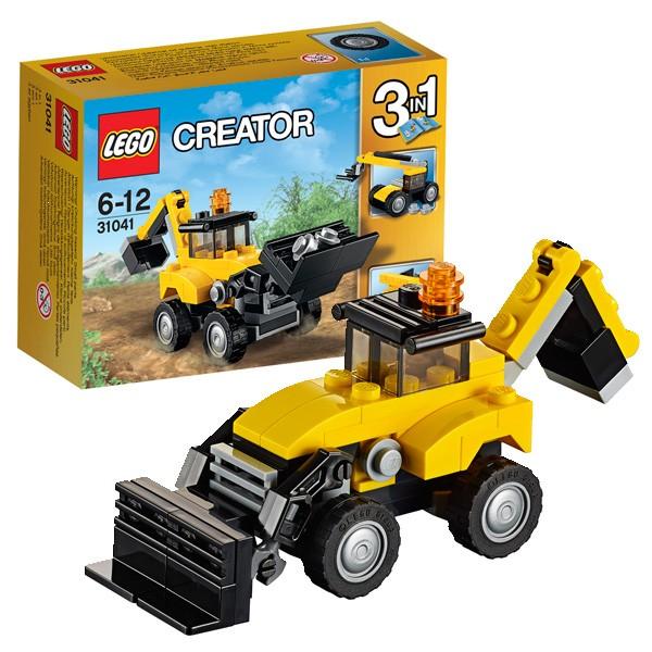 Конструктор Lego Creator Лего Криэйтор Строительная техника