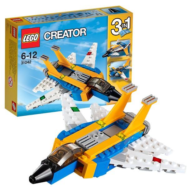 Конструктор Lego Creator Лего Криэйтор Реактивный самолет