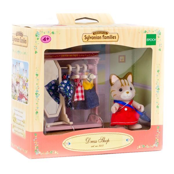 Купить Игровой набор Sylvanian Families Модный бутик в интернет магазине игрушек и детских товаров