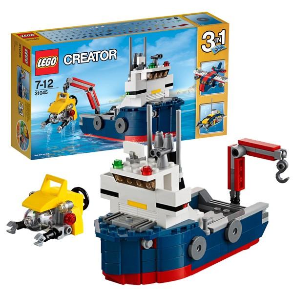 Конструктор Lego 31045 Creator Лего Криэйтор Морская экспедиция