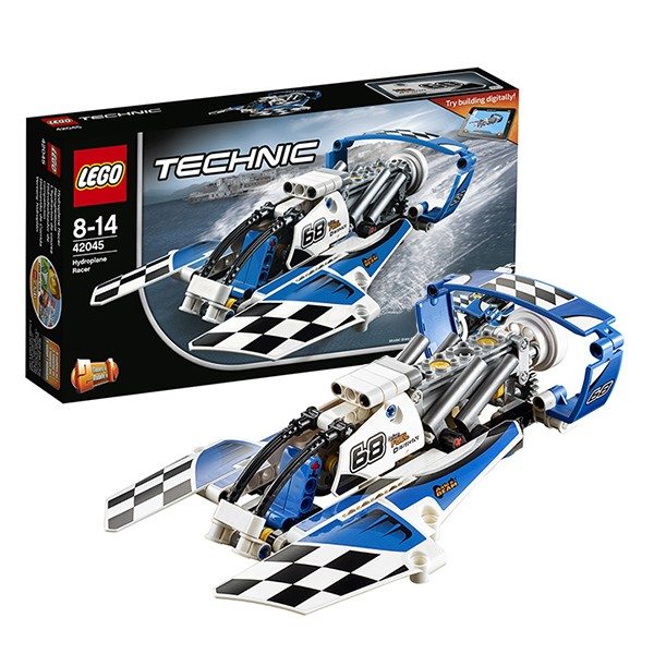 Конструктор Lego 42045 Technic Лего Техник Гоночный гидроплан