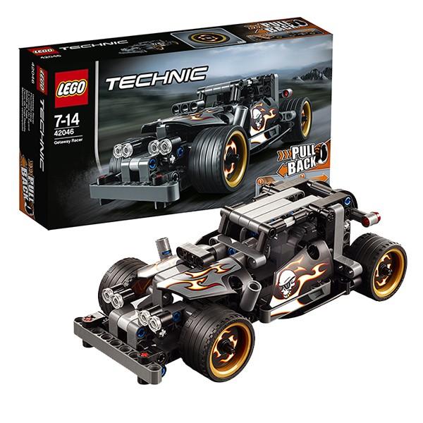 Конструктор Lego 42046 Technic Лего Техник Гоночный автомобиль для побега