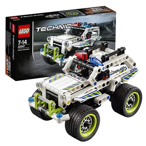 Конструктор Lego 42047 Technic Лего Техник Полицейский патруль