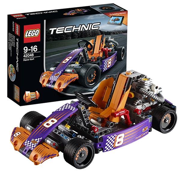 Конструктор Lego 42048 Technic Лего Техник Гоночный карт