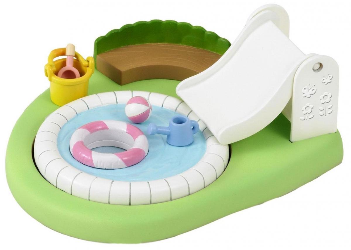Игровой набор Sylvanian Families Бассейн и песочница для малышей