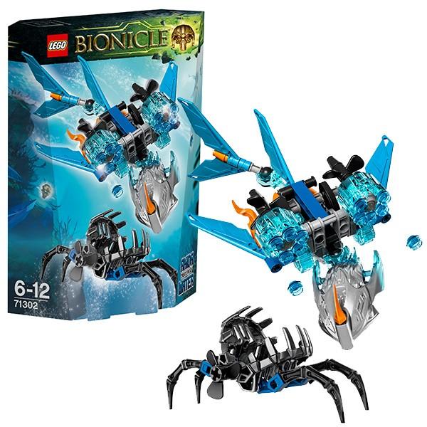 Конструктор Lego Bionicle Лего Бионикл Акида - Тотемное животное Воды
