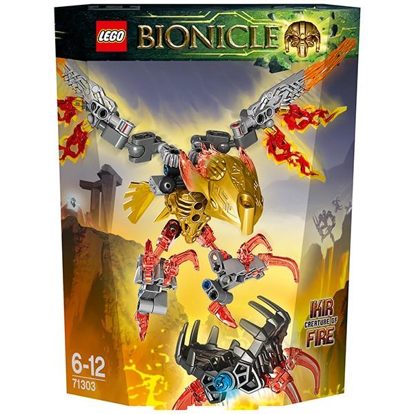 Конструктор Lego Bionicle Лего Бионикл Икир - Тотемное животное Огня