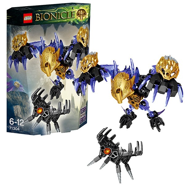Конструктор Lego Bionicle Лего Бионикл Терак - Тотемное животное Земли