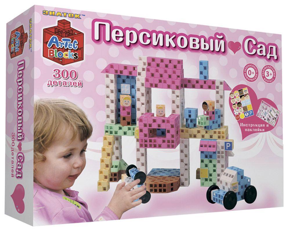 Конструктор Artec Персиковый сад - 300 деталей (Знаток)