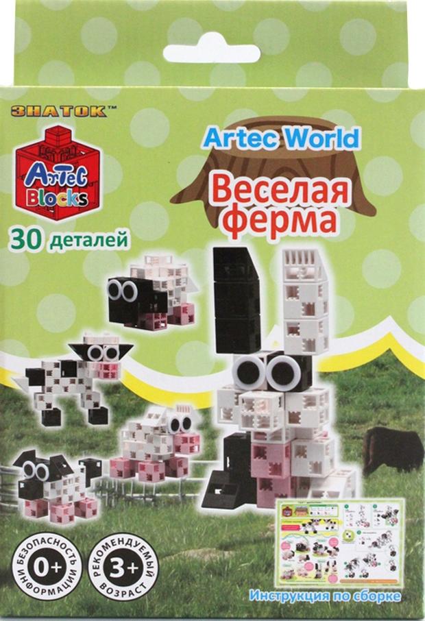 Конструктор Artec World Веселая ферма - 30 деталей (Знаток)