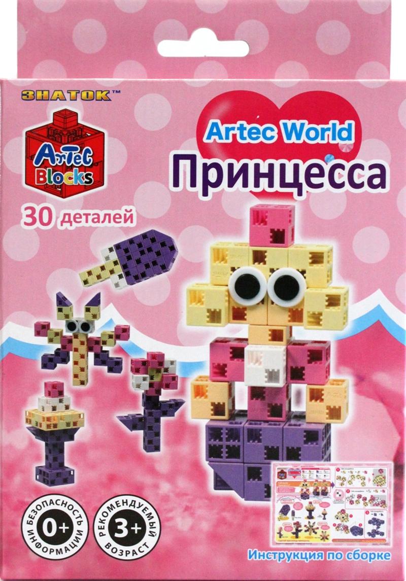 Конструктор Artec World Принцесса - 30 деталей (Знаток)