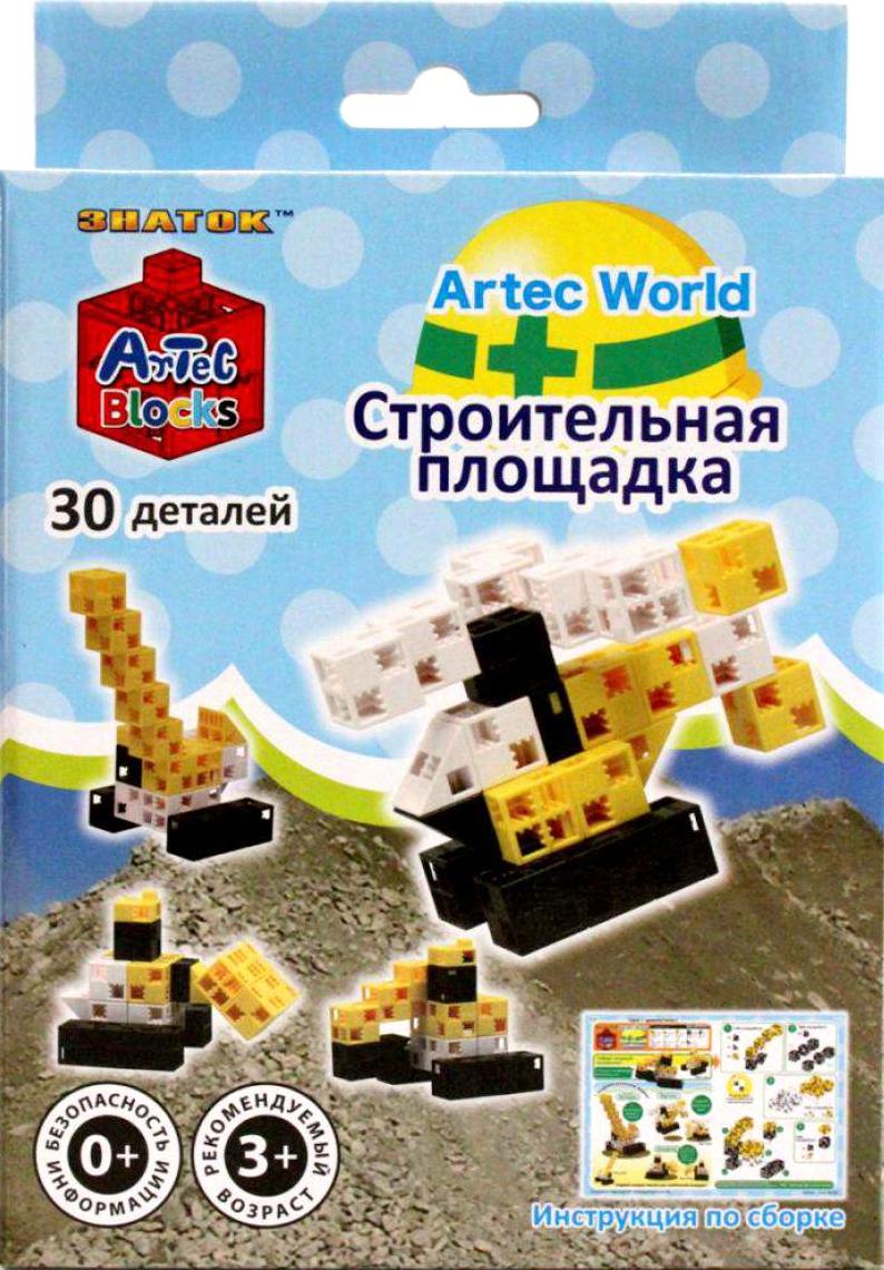 Конструктор Artec World Строительная площадка - 30 деталей (Знаток)