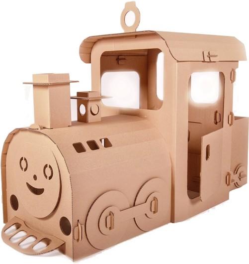Купить Картонный домик CartonHouse Паровозик из Лукошкино в интернет магазине игрушек и детских товаров