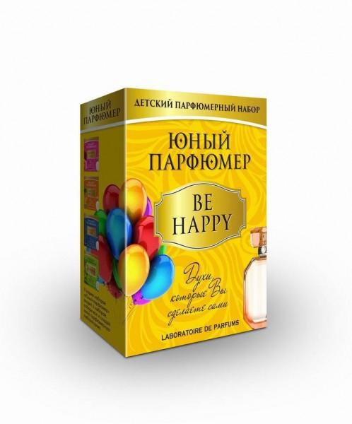 Купить Набор Юный парфюмер Be happy (Каррас) в интернет магазине игрушек и детских товаров