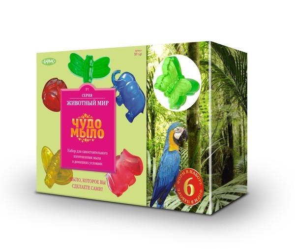 Купить Набор Чудо-мыло Животный мир (Каррас) в интернет магазине игрушек и детских товаров
