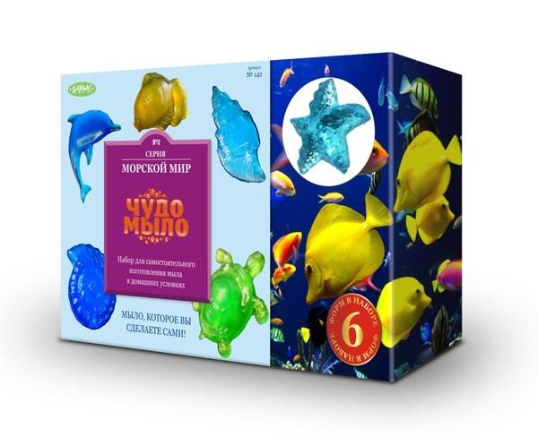 Купить Набор Чудо-мыло Морской мир (Каррас) в интернет магазине игрушек и детских товаров