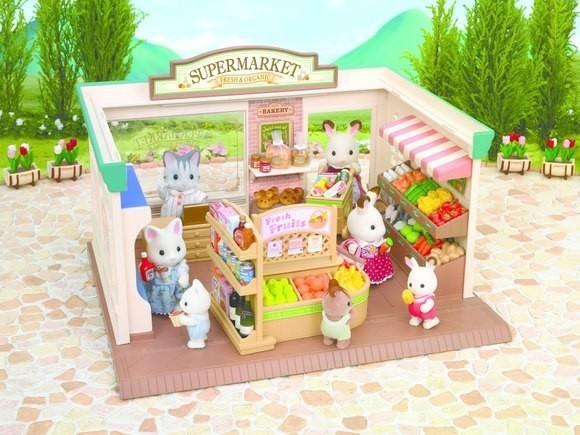 Купить Игровой набор Sylvanian Families Супермаркет в интернет магазине игрушек и детских товаров