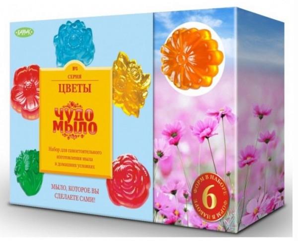 Купить Набор Чудо-мыло Цветы (Каррас) в интернет магазине игрушек и детских товаров