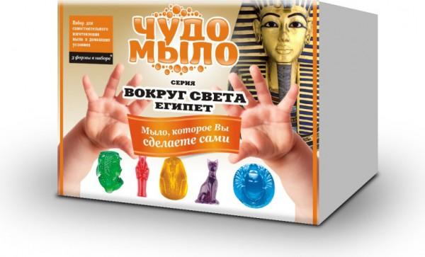 Купить Набор малый Чудо-мыло Вокруг света - Египет (Каррас) в интернет магазине игрушек и детских товаров