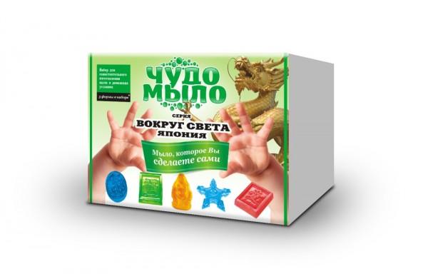 Купить Набор малый Чудо-мыло Вокруг света - Япония (Каррас) в интернет магазине игрушек и детских товаров