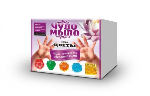 Купить Набор малый Чудо-мыло Цветы (Каррас) в интернет магазине игрушек и детских товаров