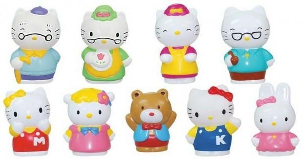 Игровой набор Hello Kitty Хелло Кити Семья и друзья (Каррас)