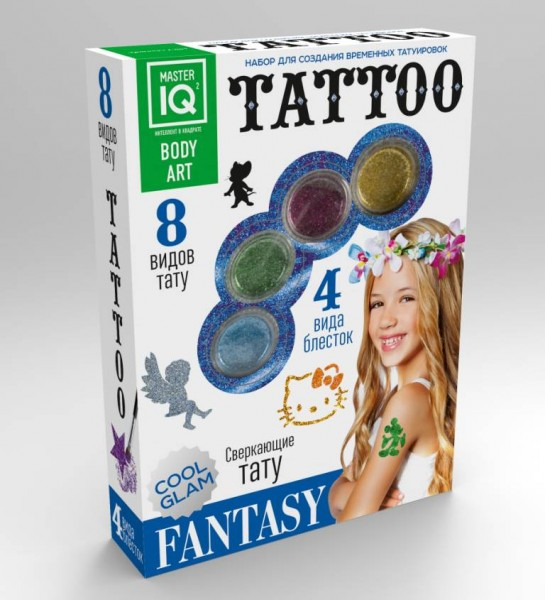 Набор для создания татуировок Master IQ Fantasy (Каррас)
