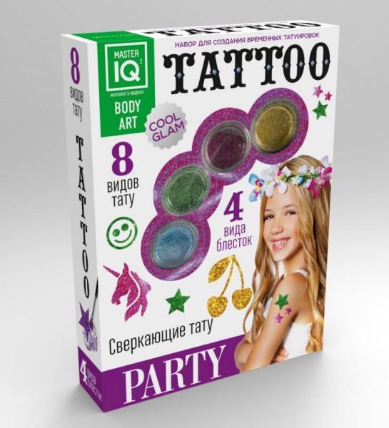 Набор для создания татуировок Master IQ Party (Каррас)
