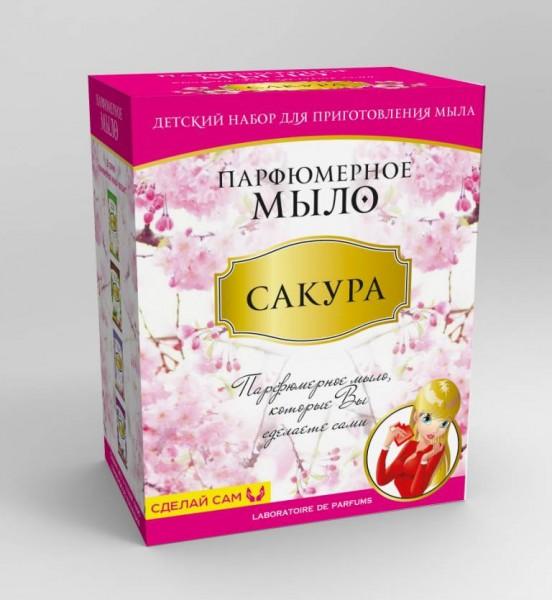 Набор Парфюмерное мыло Сакура (Каррас)