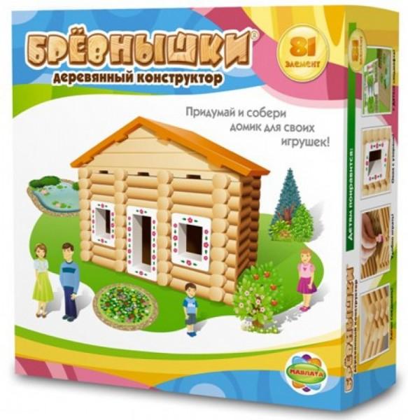 Конструктор Бревнышки - 81 деталь (Мавлата)