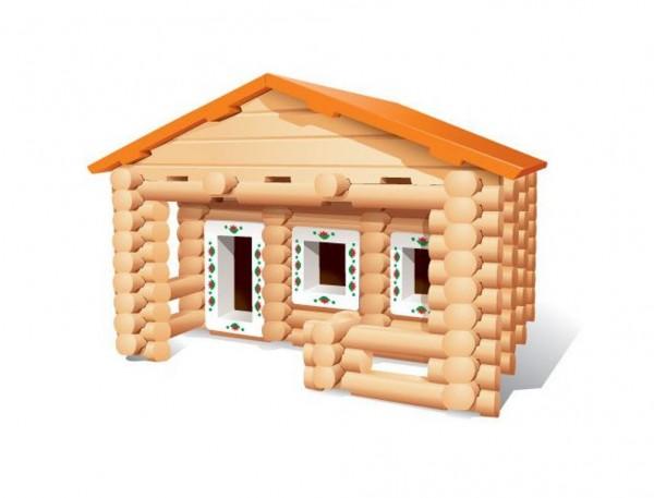 Купить Конструктор Бревнышки - 142 детали (Мавлата) в интернет магазине игрушек и детских товаров