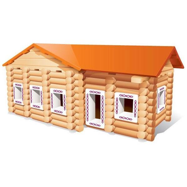 Купить Конструктор Бревнышки - 170 деталей (Мавлата) в интернет магазине игрушек и детских товаров