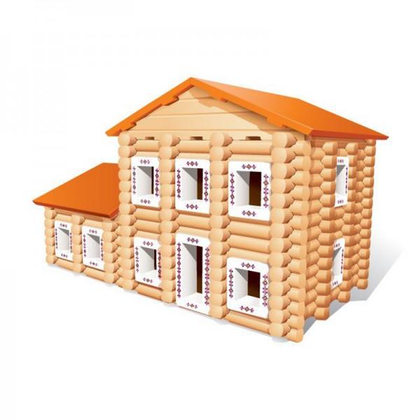 Купить Конструктор Бревнышки - 262 детали (Мавлата) в интернет магазине игрушек и детских товаров