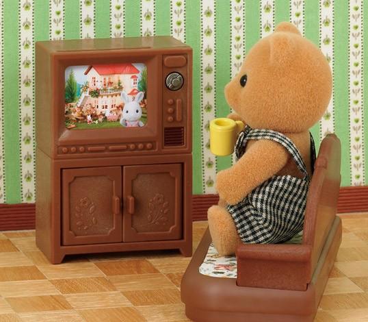 Игровой набор Sylvanian Families Цветной телевизор