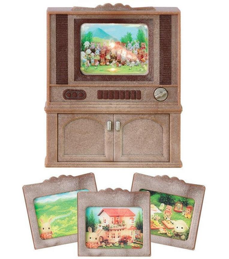 Игровой набор Sylvanian Families 2924 Цветной телевизор