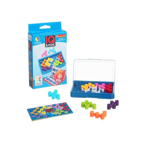 Логическая игра Bondibon ВВ1354 IQ-Блок