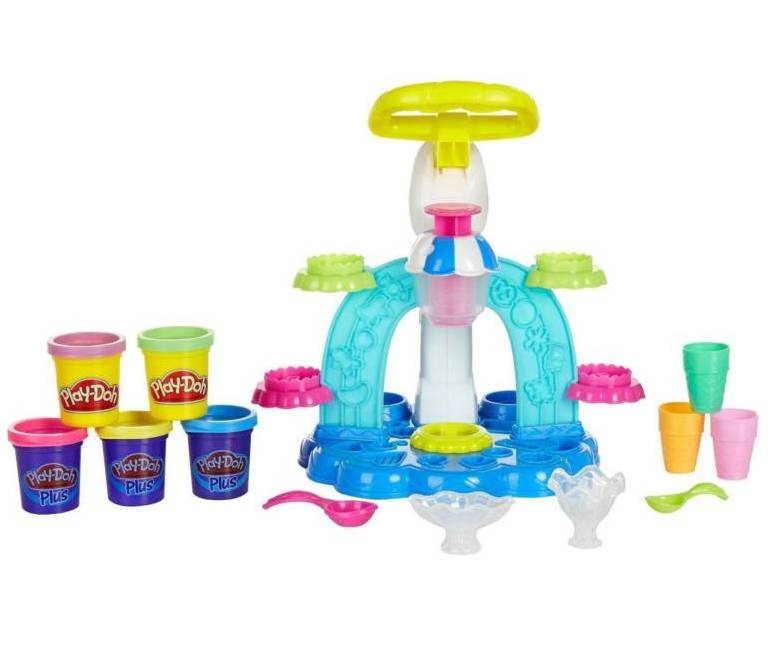 Набор для творчества Play-Doh Фабрика мороженого (Hasbro)