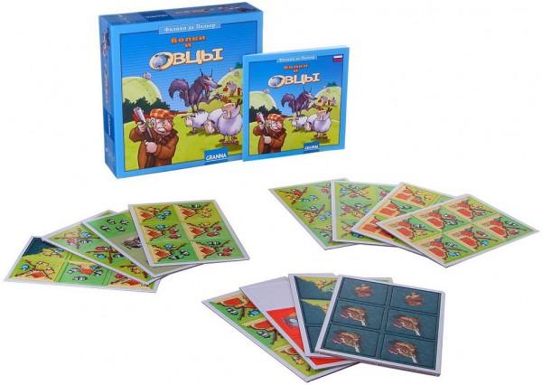 Настольная игра Bondibon Волки и Овцы (новое издание)
