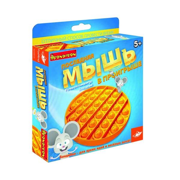 Купить Настольная игра Bondibon Последняя мышь в проигрыше в интернет магазине игрушек и детских товаров