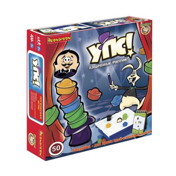 Купить Настольная игра Bondibon Упс! Озадаченный фокусник в интернет магазине игрушек и детских товаров