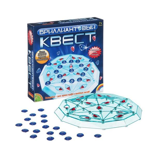 Купить Настольная игра Bondibon Бриллиантовый квест в интернет магазине игрушек и детских товаров