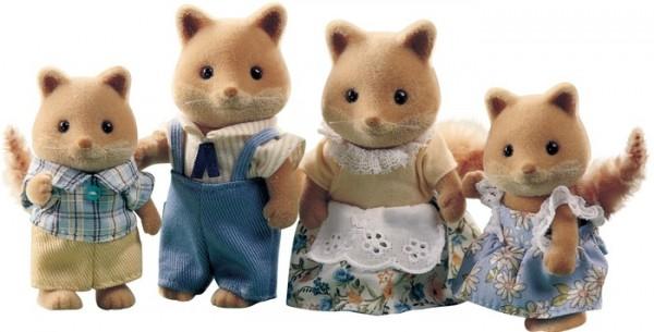 Купить Игровой набор Sylvanian Families Семья лис в интернет магазине игрушек и детских товаров