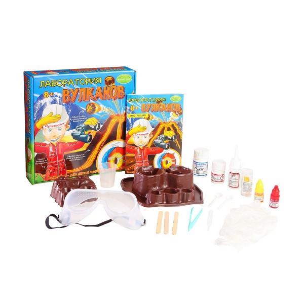 Купить Набор Bondibon Французские опыты Науки с Буки -Лаборатория вулканов в интернет магазине игрушек и детских товаров